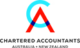 CA ANZ Logo - Chartered Accountants Australia and New Zealand