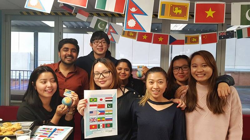 Students from around the world