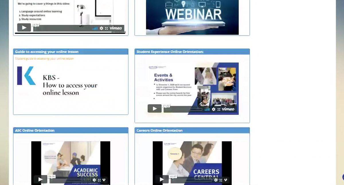 Online Study video tutorials
