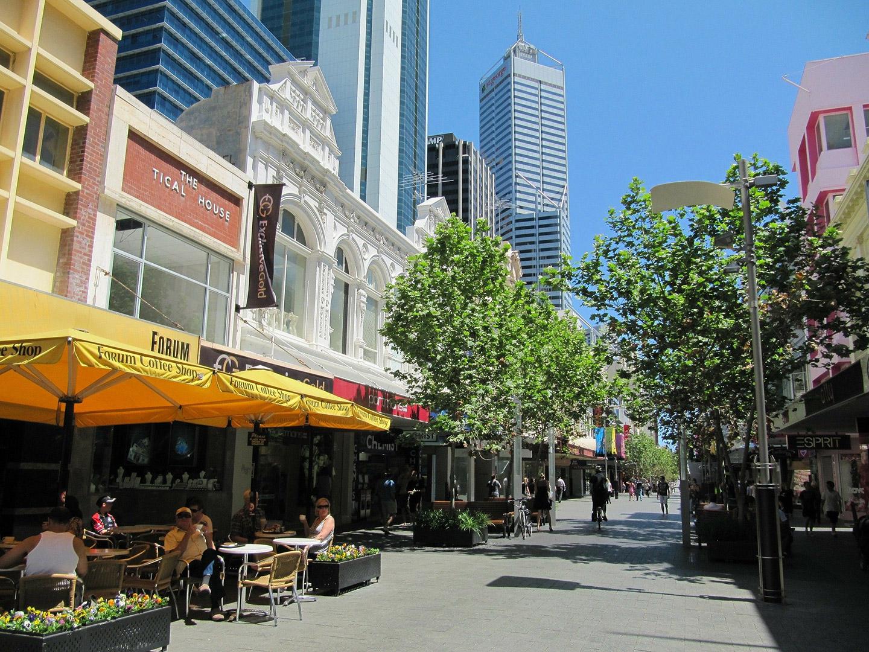 Perth CBD Shops