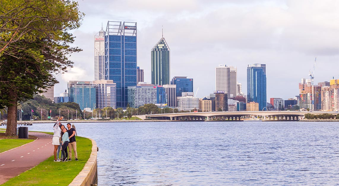 Perth City Swan River