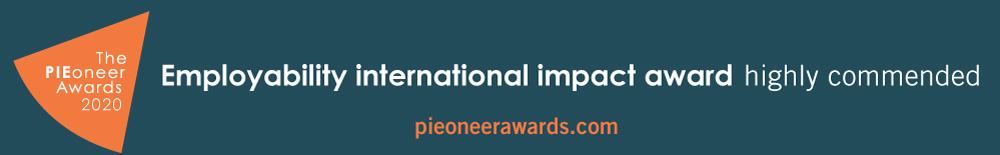 PIEoneer Awards employability banner